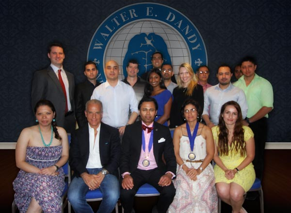 Inauguration Ceremony of the Honduras Chapter. May 3, 2014.