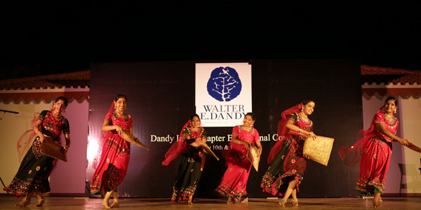 The Dandy India Chapter Inaugural Meeting opening ceremony featured an elegant traditional Indian dance, each segment of which represented the various regions of India