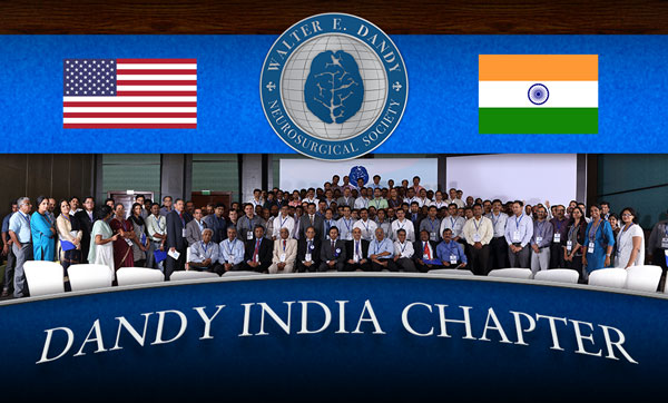 The Dandy India Chapter Inaugural Meeting was held in Chennai, India last week. The meeting was attended by over 200 residents and young neurosurgeons. Some of India's premier neurosurgeons were invited to deliver special lectures.